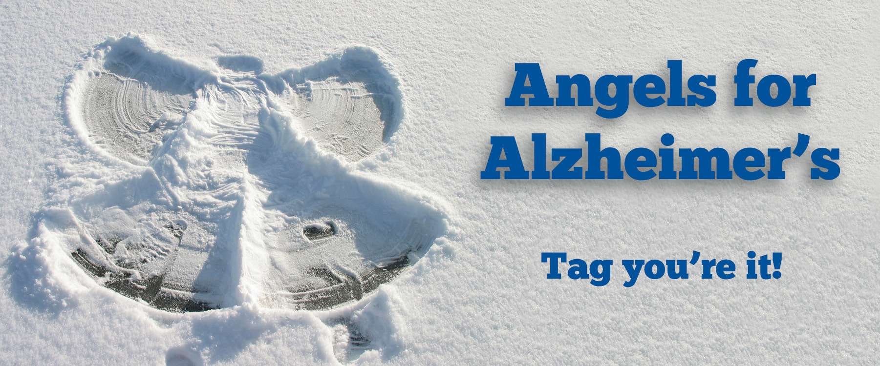 webpage header - angels for alzheimer's