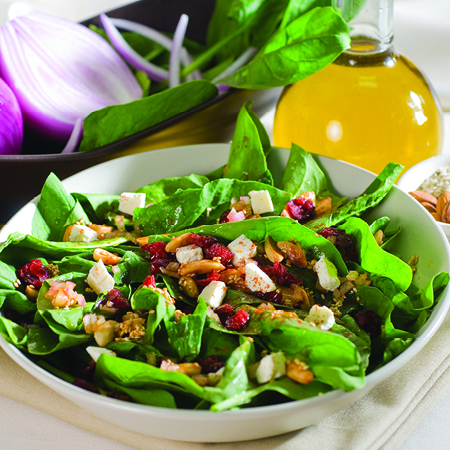 Spinach Salad 3x3